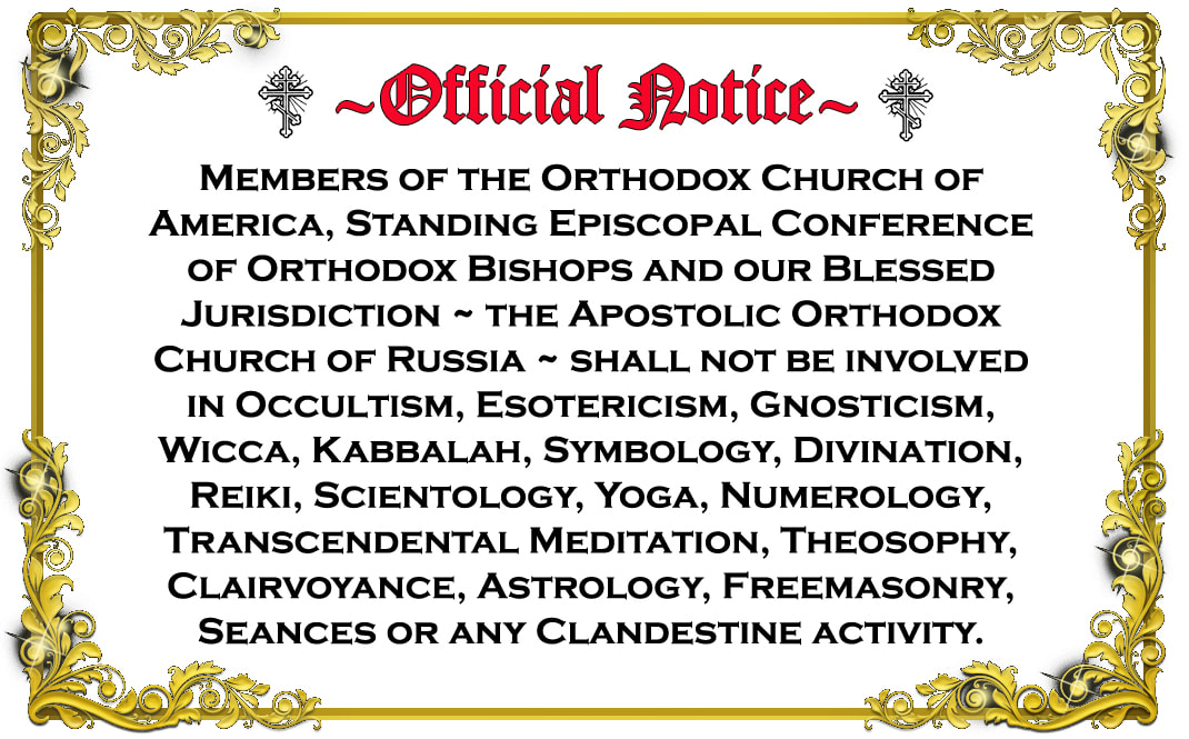 Orthodox Church of America - UAOC - Standing Episcopal Conference of